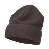 Beanie - Heather Big Size Fleece Beanie Hat