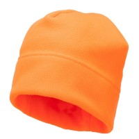 Beanie - Orange Big Size Fleece Beanie Hat
