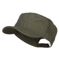 Cadet - Olive Big Size Trendy Army Style Cap