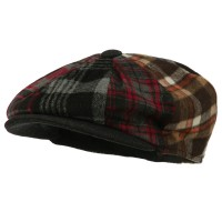 Newsboy - Wool Patchwork Men's Newsboy | Free Shipping | e4Hats.com