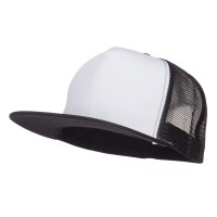 Ball Cap - Flat Bill Snapback Trucker Cap | Free Shipping | e4Hats.com