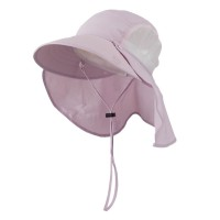Outdoor - Pink UV 50+ Talson Large Bill Flap Hat