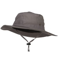 Outdoor - Charcoal Big Size Fishing Aussie Hat