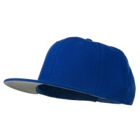 Ball Cap - Royal Boy's Solid Wool Snapback Cap
