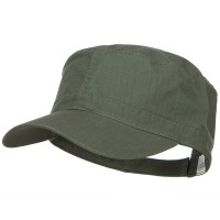 Cadet - Olive Big Size Cotton Ripstop Army Cap