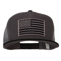 Patched Embroidered Cap - American Flag Patched Big Size Cap | Free Shipping | e4Hats.com
