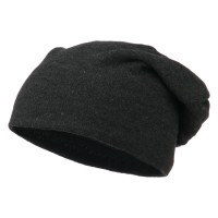 Beanie - Big Size Knit Slouch Beanie | Free Shipping | e4Hats.com