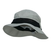 Bucket - Grey Big Size Talson Side Mesh Bucket