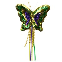 Costume - Sequin Mardi Butterfly Wand