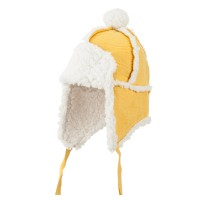 Trooper - Mustard Boy's Pom Pom Trooper Hat