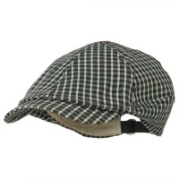 Ivy - Navy Checker 8 Quarter Ivy Cap