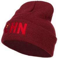 Beanie - China Embroidered Long Beanie