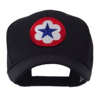 Embroidered Cap - 9th Army Circular Shape Patch Cap | Coupon Free | e4Hats.com