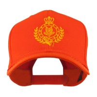 Embroidered Cap - Orange Canadian Badge Embroidery Cap