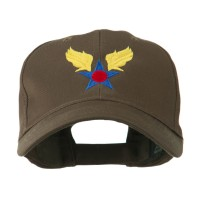 Embroidered Cap - Brown Army Air Corps Embroidered Cap