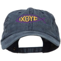 Embroidered Cap - Religious Symbol of Christ Cotton Cap | Free Shipping | e4Hats.com