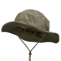 Outdoor - Khaki Cotton Twill Bucket Hats