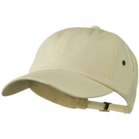 Ball Cap - Natural 100% Organic Cotton Twill Cap