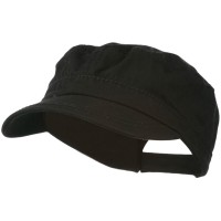 Cadet - Black Colorful Washed Military Cap