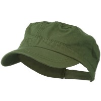 Cadet - Olive Colorful Washed Military Cap