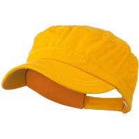 Cadet - Yellow Colorful Washed Military Cap