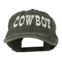 Embroidered Cap - Cowboy Embroidered Cap | Free Shipping | e4Hats.com