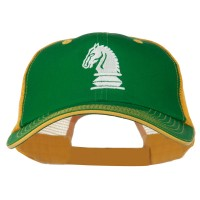 Embroidered Cap - Chess Knight Big Size Mesh Cap | Free Shipping | e4Hats.com