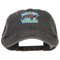Embroidered Cap - Dad and Me Fishing Patched Cap | Free Shipping | e4Hats.com