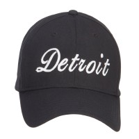 Embroidered Cap - City of Detroit Embroidered Cap