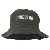 Bucket - Director Embroidered Bucket | Free Shipping | e4Hats.com