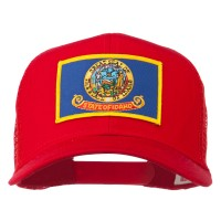 Embroidered Cap - Idaho State Flag Patched Cap