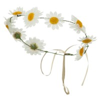 Costume - White Daisy Garl, Headpiece