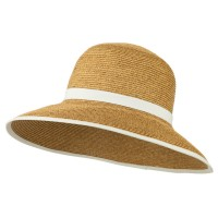 Dressy - UPF 50+ Downturned Trimmed Hat | Free Shipping | e4Hats.com