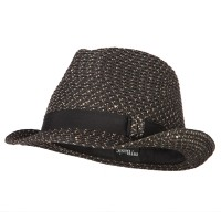 Fedora - Ladies Sequins Paper Fedora Hat