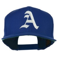 Embroidered Cap - Old English A Embroidered Cap | Free Shipping | e4Hats.com