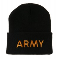 Beanie - Military Embroidered Beanie | Free Shipping | e4Hats.com