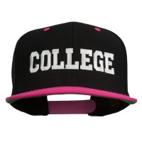 Embroidered Cap - College Embroidered Snapback | Free Shipping | e4Hats.com