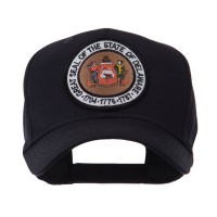 Embroidered Cap - Delaware US Eastern State Seal Patch Cap