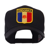 Embroidered Cap - Europe Flag Shield Patch Cap | Free Shipping | e4Hats.com