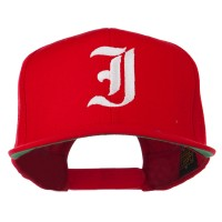 Embroidered Cap - Old English I Flat Bill Cap   Free Shipping   e4Hats.com