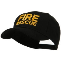 Embroidered Cap - Fire Rescue Embroidered Military Cap