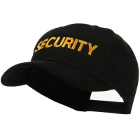 Embroidered Cap - Security Embroidered Military Cap