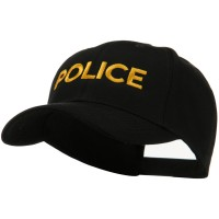 Embroidered Cap - Police Embroidered Military Cap