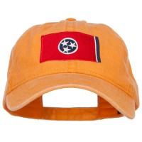Embroidered Cap - Tennessee State Flag Washed Cap