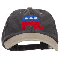 Embroidered Cap - Republican USA Embroidered Cap