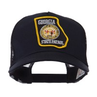 Embroidered Cap - GA State USA Eastern State Patch Cap