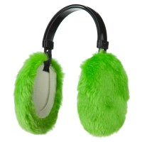 Warmer - Neon Green Thermal Insulated Ear Muff