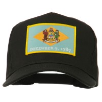 Embroidered Cap - Delaware US Eastern State Patch Cap