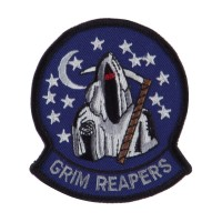 Patch - Grim ETC Embroidered Military Patch