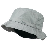 Bucket - Grey Mens UV 50+ Lined Bucket Hat